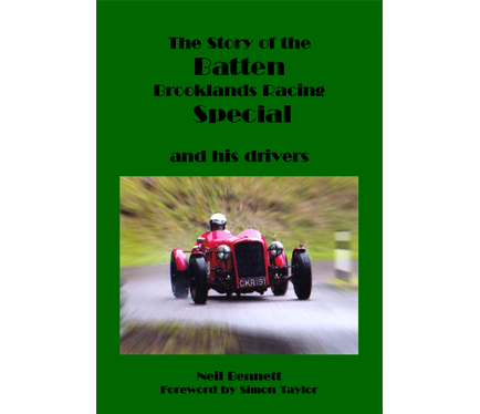 The story of the Batten Brooklands Racing Special book